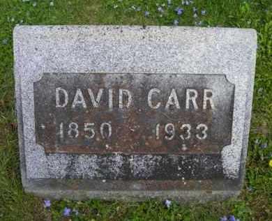 CARR, DAVID - Chautauqua County, New York | DAVID CARR - New York Gravestone Photos