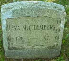 CHAMBERS, EVA M. - Chautauqua County, New York | EVA M. CHAMBERS - New York Gravestone Photos