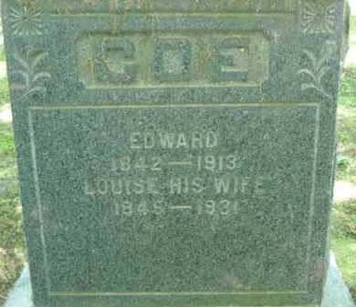 NELSON COE, LOUISE - Chautauqua County, New York | LOUISE NELSON COE - New York Gravestone Photos