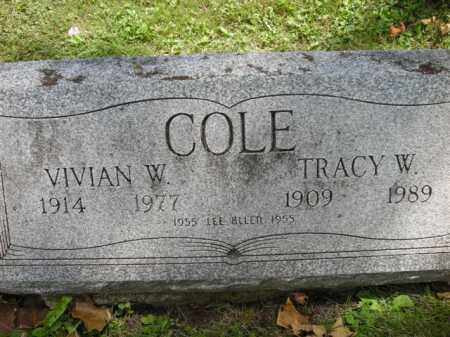 COLE, LEE ALLEN - Chautauqua County, New York | LEE ALLEN COLE - New York Gravestone Photos