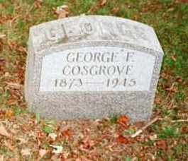 COSGROVE, GEORGE F. - Chautauqua County, New York | GEORGE F. COSGROVE - New York Gravestone Photos