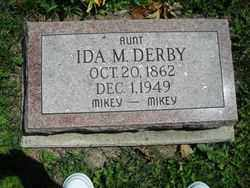 DERBY, IDA M. - Chautauqua County, New York | IDA M. DERBY - New York Gravestone Photos