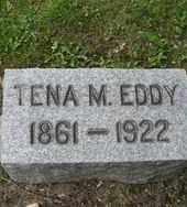 EDDY, TENA M. - Chautauqua County, New York   TENA M. EDDY - New York Gravestone Photos