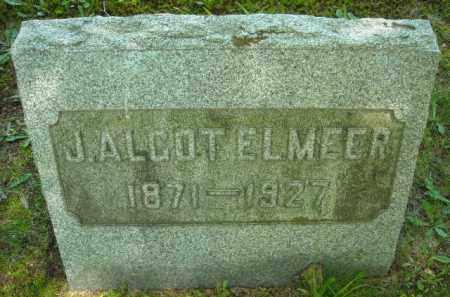 ELMEER, J. ALGOT - Chautauqua County, New York | J. ALGOT ELMEER - New York Gravestone Photos