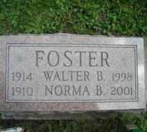 FOSTER, WALTER B. - Chautauqua County, New York | WALTER B. FOSTER - New York Gravestone Photos