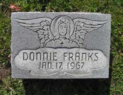 FRANKS, DONNIE - Chautauqua County, New York | DONNIE FRANKS - New York Gravestone Photos