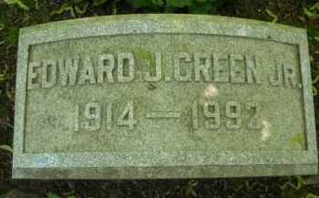 GREEN, EDWARD J., JR - Chautauqua County, New York | EDWARD J., JR GREEN - New York Gravestone Photos