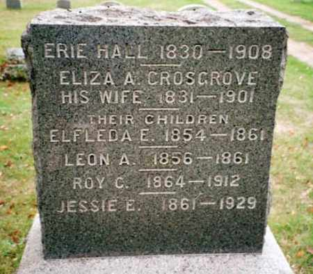 HALL, ELIZA A. - Chautauqua County, New York | ELIZA A. HALL - New York Gravestone Photos