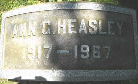GREEN HEASLEY, ANN - Chautauqua County, New York | ANN GREEN HEASLEY - New York Gravestone Photos