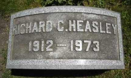 HEASLEY, RICHARD C. - Chautauqua County, New York | RICHARD C. HEASLEY - New York Gravestone Photos