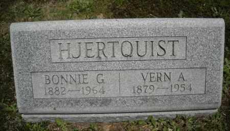 HJERTQUIST, VERN A. - Chautauqua County, New York | VERN A. HJERTQUIST - New York Gravestone Photos