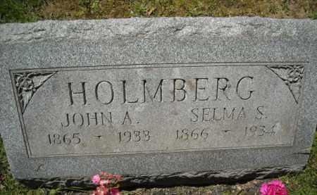 HOLMBERG, SELMA - Chautauqua County, New York   SELMA HOLMBERG - New York Gravestone Photos