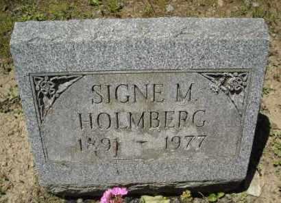 HOLMBERG, SIGNE - Chautauqua County, New York   SIGNE HOLMBERG - New York Gravestone Photos