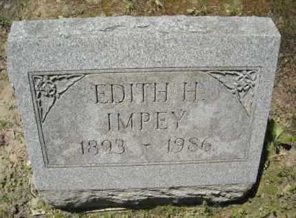 HOLMBERG IMPEY, EDITH - Chautauqua County, New York | EDITH HOLMBERG IMPEY - New York Gravestone Photos