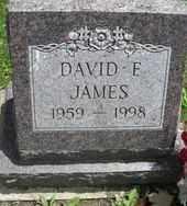 JAMES, DAVID F. - Chautauqua County, New York | DAVID F. JAMES - New York Gravestone Photos