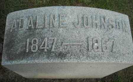 JOHNSON, ADALINE - Chautauqua County, New York | ADALINE JOHNSON - New York Gravestone Photos