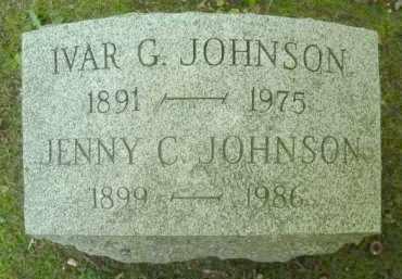 JOHNSON, IVAR G. - Chautauqua County, New York | IVAR G. JOHNSON - New York Gravestone Photos