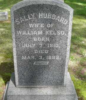 HUBBARD KELSO, SALLY - Chautauqua County, New York | SALLY HUBBARD KELSO - New York Gravestone Photos
