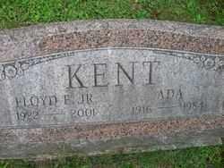 WATSON KENT, ADA - Chautauqua County, New York | ADA WATSON KENT - New York Gravestone Photos