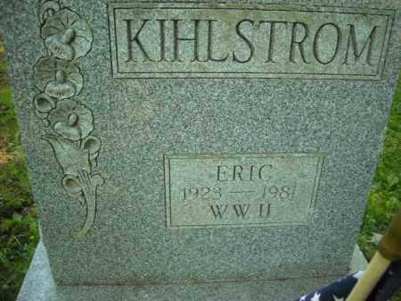 KIHLSTROM (WWII), ERIC - Chautauqua County, New York | ERIC KIHLSTROM (WWII) - New York Gravestone Photos