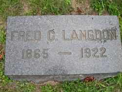 LANGDON, FRED G. - Chautauqua County, New York | FRED G. LANGDON - New York Gravestone Photos