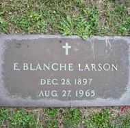 LARSON, E. BLANCHE - Chautauqua County, New York | E. BLANCHE LARSON - New York Gravestone Photos