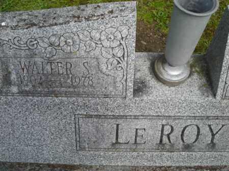 LEROY, WALTER - Chautauqua County, New York   WALTER LEROY - New York Gravestone Photos