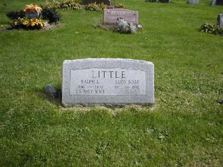 BOSS LITTLE, LUCY - Chautauqua County, New York | LUCY BOSS LITTLE - New York Gravestone Photos