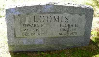 LOOMIS, EDWARD - Chautauqua County, New York | EDWARD LOOMIS - New York Gravestone Photos