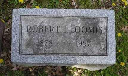 LOOMIS, ROBERT I. - Chautauqua County, New York | ROBERT I. LOOMIS - New York Gravestone Photos