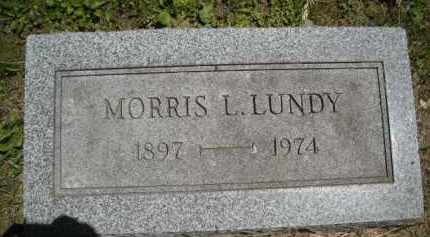 LUNDY, MORRIS - Chautauqua County, New York | MORRIS LUNDY - New York Gravestone Photos
