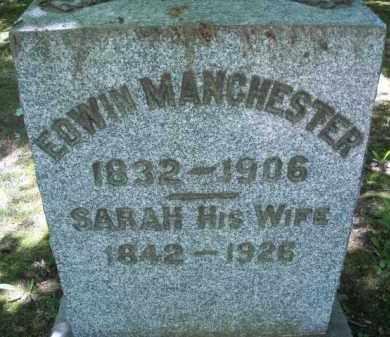 MANCHESTER, EDWIN - Chautauqua County, New York   EDWIN MANCHESTER - New York Gravestone Photos