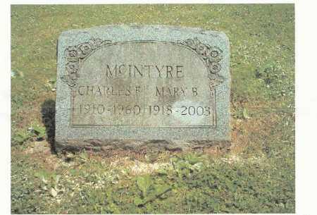 MCINTYRE, CHARLES F. - Chautauqua County, New York | CHARLES F. MCINTYRE - New York Gravestone Photos