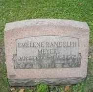 RANDOLPH, EMELINE - Chautauqua County, New York   EMELINE RANDOLPH - New York Gravestone Photos