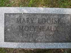 MOLYNEAUX, MARY LOUISE - Chautauqua County, New York | MARY LOUISE MOLYNEAUX - New York Gravestone Photos