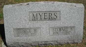 MYERS, STEWART B. - Chautauqua County, New York | STEWART B. MYERS - New York Gravestone Photos