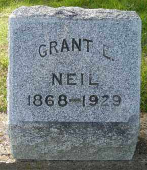 NEIL, GRANT - Chautauqua County, New York | GRANT NEIL - New York Gravestone Photos