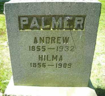 PALMER, HILMA - Chautauqua County, New York | HILMA PALMER - New York Gravestone Photos