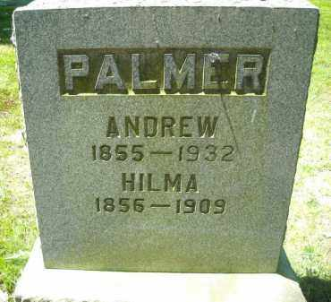 PALMER, ANDREW - Chautauqua County, New York | ANDREW PALMER - New York Gravestone Photos
