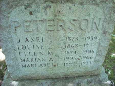 PETERSON, ELLEN - Chautauqua County, New York | ELLEN PETERSON - New York Gravestone Photos