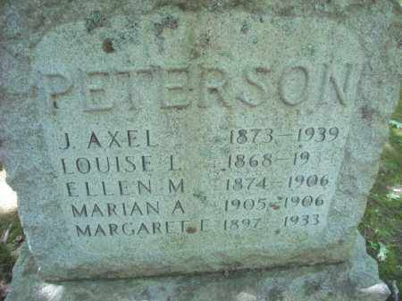 PETERSON, ELLEN - Chautauqua County, New York | ELLEN PETERSON - New York Gravestone Photos