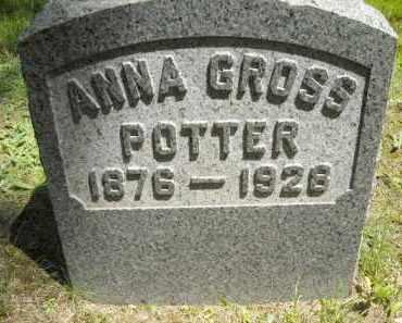 GROSS, ANNA - Chautauqua County, New York   ANNA GROSS - New York Gravestone Photos
