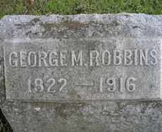 ROBBINS, GEORGE M. - Chautauqua County, New York | GEORGE M. ROBBINS - New York Gravestone Photos