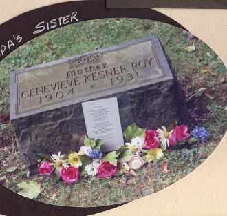 KESNER ROY, GENEVIEVE - Chautauqua County, New York | GENEVIEVE KESNER ROY - New York Gravestone Photos