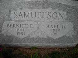 SAMUELSON, BERNICE E. - Chautauqua County, New York | BERNICE E. SAMUELSON - New York Gravestone Photos