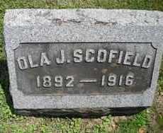 SCOFIELD, OLA J. - Chautauqua County, New York   OLA J. SCOFIELD - New York Gravestone Photos