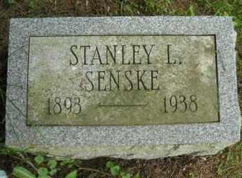 SENSKE, STANLEY L. - Chautauqua County, New York | STANLEY L. SENSKE - New York Gravestone Photos