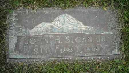 SLOAN, JOHN HUGH, JR - Chautauqua County, New York   JOHN HUGH, JR SLOAN - New York Gravestone Photos