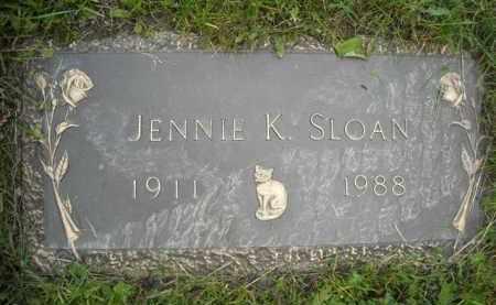 MEYER SLOAN, JENNIE K. - Chautauqua County, New York | JENNIE K. MEYER SLOAN - New York Gravestone Photos