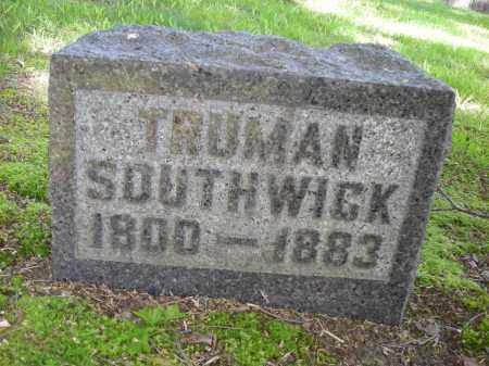 SOUTHWICK, TRUMAN - Chautauqua County, New York | TRUMAN SOUTHWICK - New York Gravestone Photos